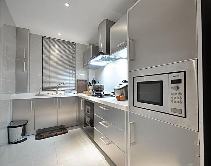 极简风格二居室厨房装修效果图欣赏